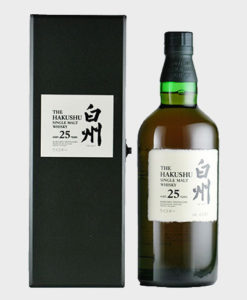 A picture of Hakushu 25 Years Old