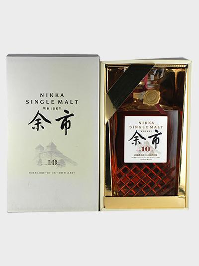 Nikka Yoici 10 year single malt whisky