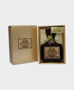Suntory royal 15 years old gold label limited edition