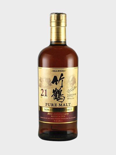 Taketsuru 21 Year Old Non Chill Filtered Whisky