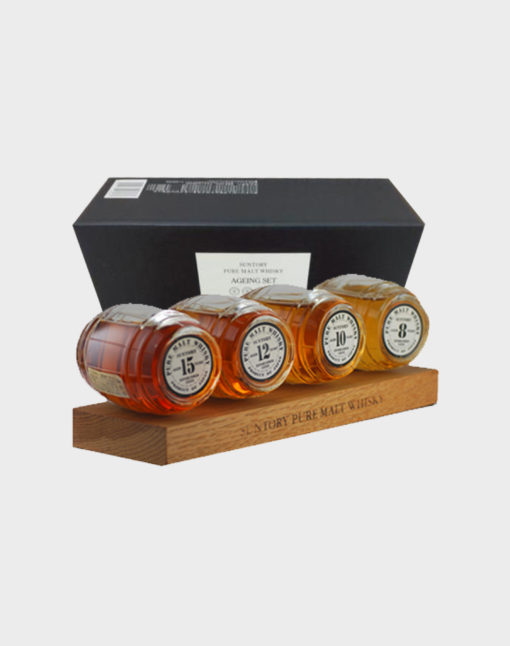 Suntory Whisky Barrel 4 bottles set with Box