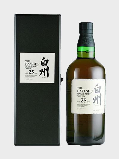 The Hakushu 25 year single malt Whisky