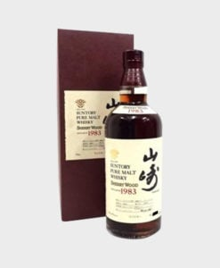 Yamazaki 1983 Sherry wood with box