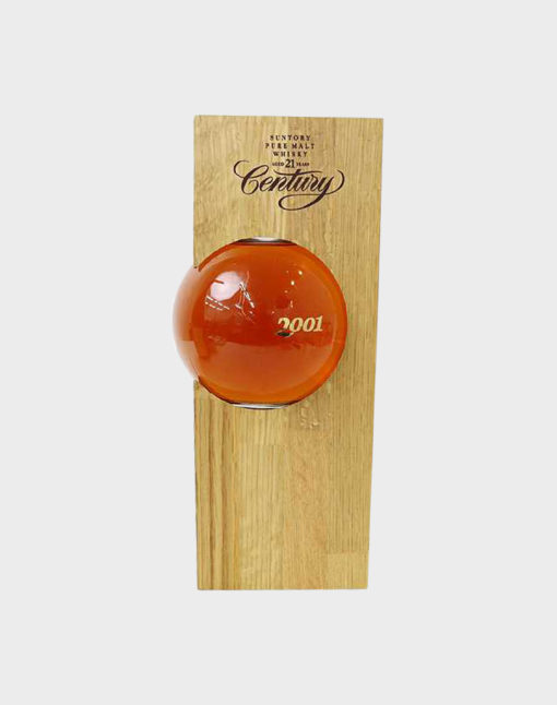 Suntory pure malt whisky 21 years old for century 2001 A