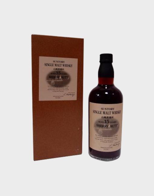 Suntory single malt whisky 15 years old sherry butt A