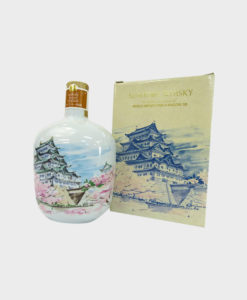 Suntory Whiskey Pottery bottle