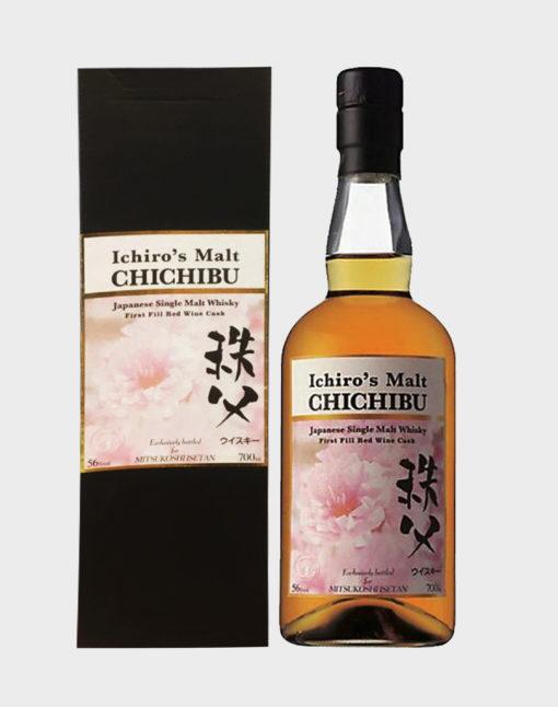 Chichibu First Fill Red Wine Cask Bottled for Takashimaya Isetan