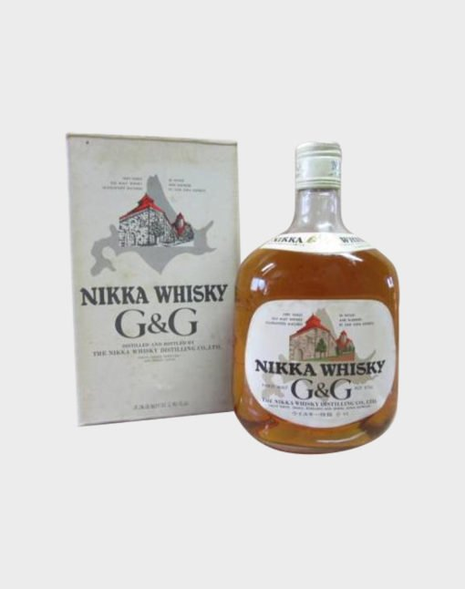 Nikka Whisky G&G Bottle With Box