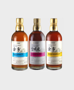 Nikka Whisky Yoichi Single Malt 3 Bottle Set