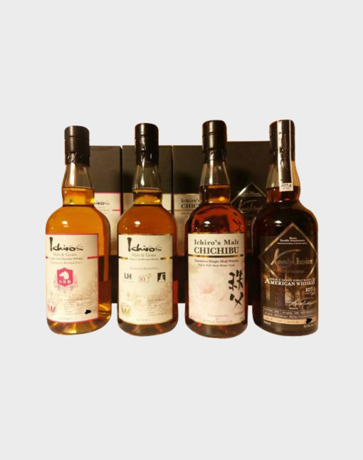 Ichiro's Malt Bourbon, Chichibu and American Whisky Set