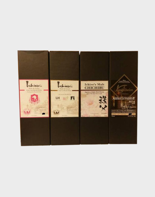 Ichiro's Malt Bourbon, Chichibu and American Whisky Set B