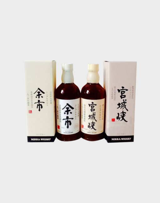 Nikka Yoichi & Miyagikyo Single Malt Whisky Set