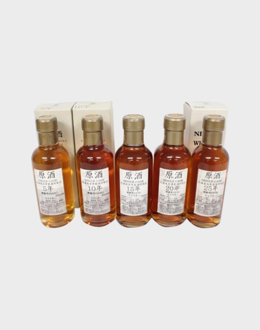 Nikka Yoichi Single Cask Set