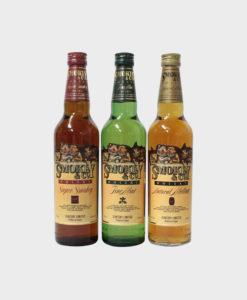 Suntory Smokey & Co. Whisky 3 Bottles Set