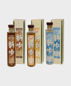 Okayama Distillery Malt Whisky Progress Bottle Set
