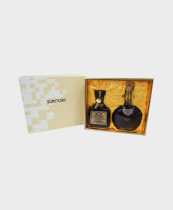 Suntory Royal 15 Year Old Gold Label & Brandy X.O Super Deluxe Whisky Set