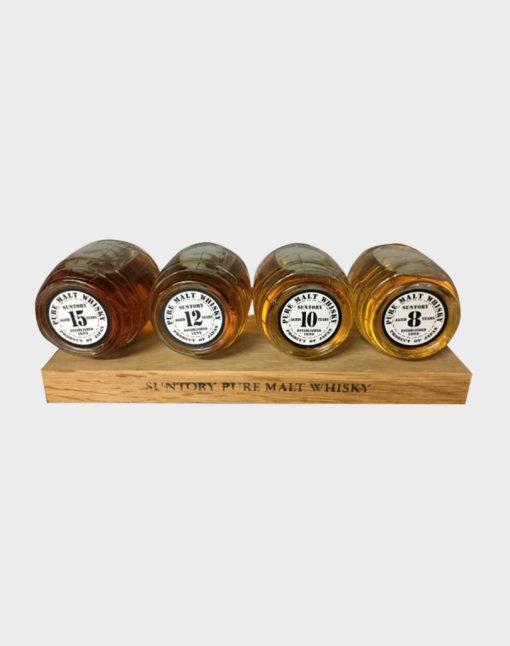 Suntory Whisky Barrel 4 bottles set (No Box)