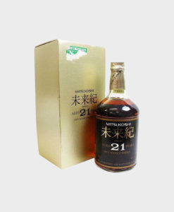 Mistsukoshi 21 Year Old Miraiki Scotch Whisky