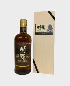 Nikka Taketsuru Pure Malt 12 year Old Whisky (Wooden Box)