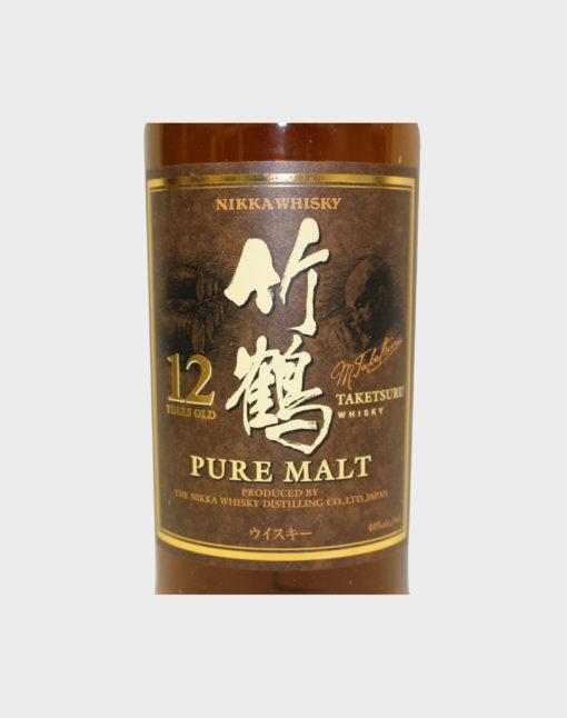 Nikka Taketsuru Pure Malt 12 year Old Whisky (Wooden Box) D