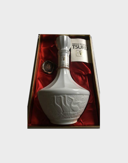 Nikka Tsuru White Ceramic Bottle Whisky