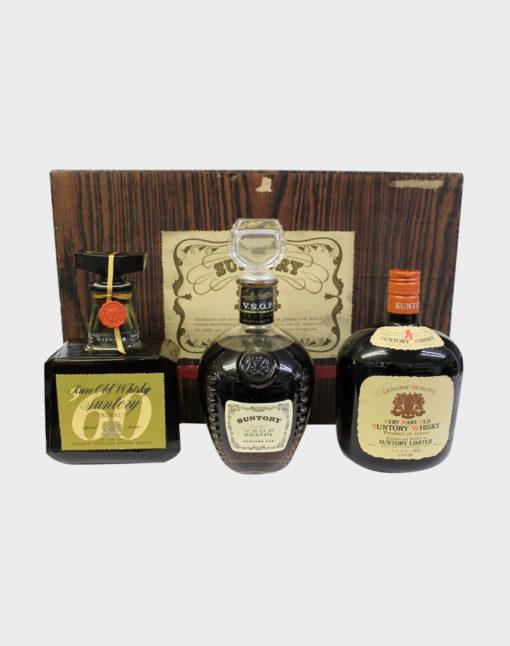 Suntory 3 Bottles Gift Set