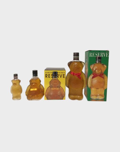 Suntory Reserve Bear & Gorilla Whisky set