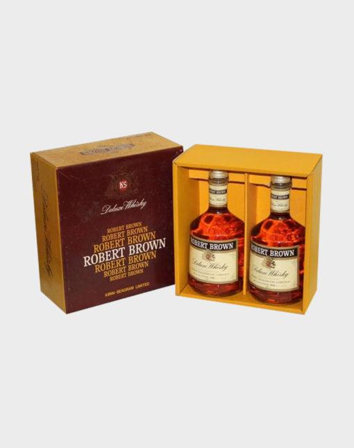 Kirin Robert Brown Deluxe Whisky 2 Bottle Set