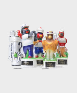 Suntory Open Golf Memorial Bottle Whisky - Pottery Bird Set