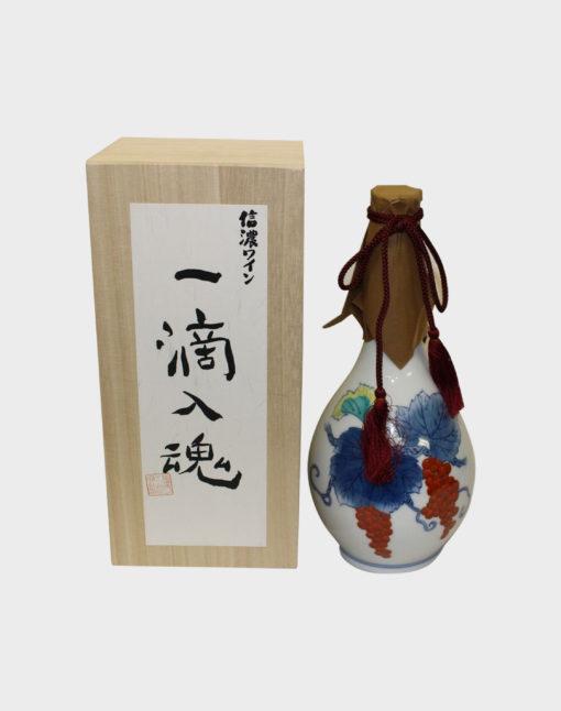 Shinano Wine Itteki-nyukon 2009 Ceramic Bottle
