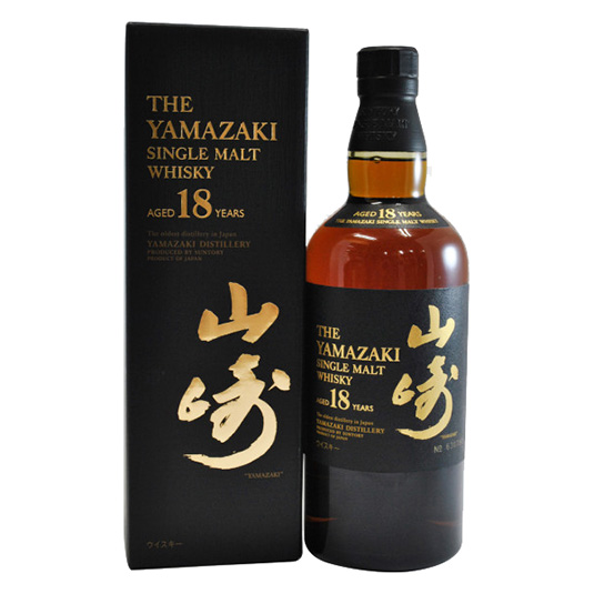 Suntory Yamazaki 18 Single Malt Japanese Whisky