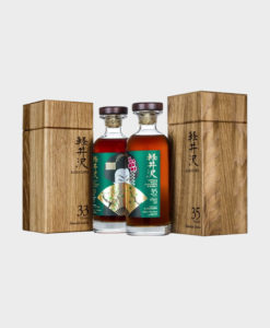 Karuizawa 33 & 35 Year Old 'Emerald Geisha' Bourbon Set