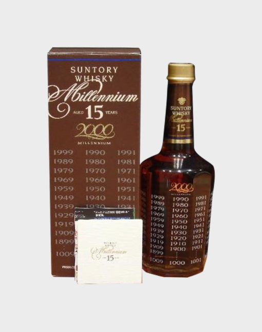 Suntory Whisky Millennium 15 Years