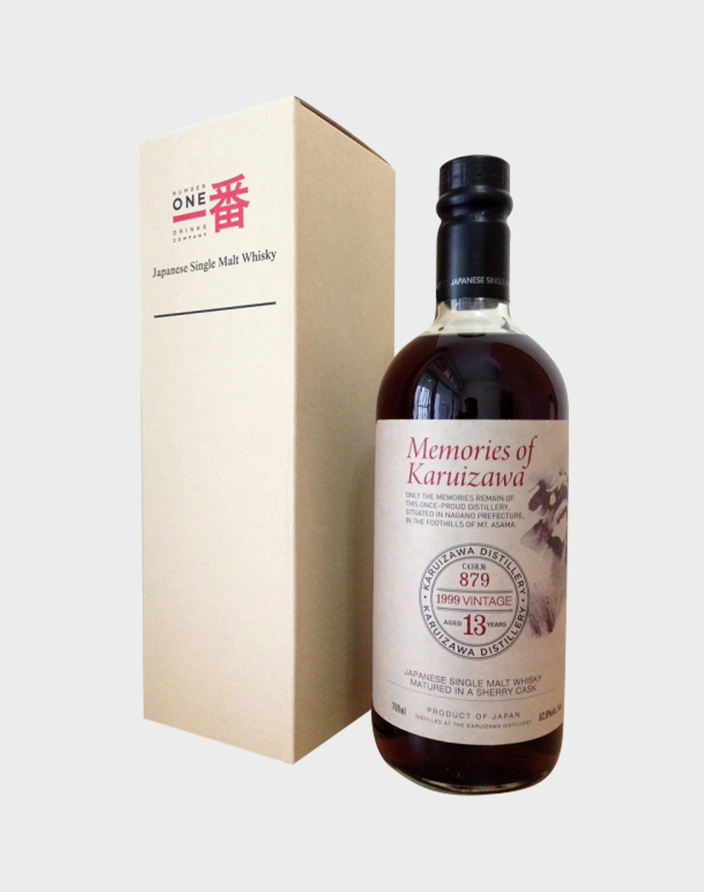 Memories of Karuizawa Cask 879 - 13 years