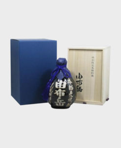 Shochu Yufutake Ceramic Bottle - Wooden Box