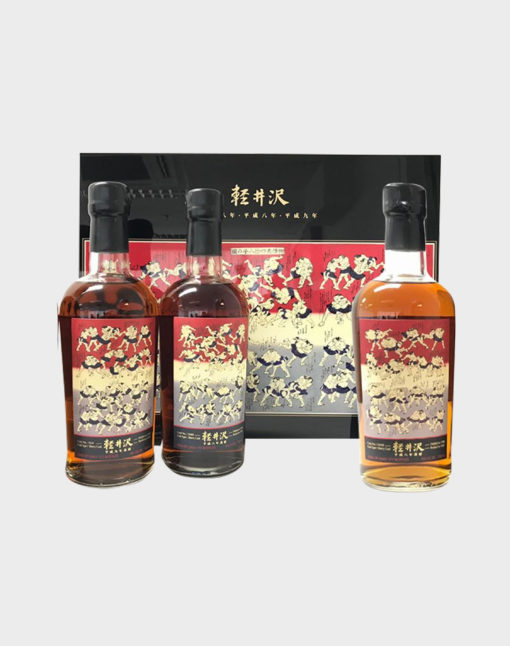 Karuizawa Sumo 48 Wrestlers – Three Bottle Set Cask# 3680, 3648 & 824