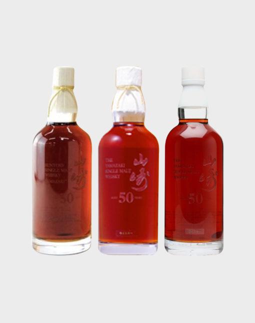 Yamazaki 50 Years Old – 3 Bottles Selection (1st, 2nd & 3rd Edition)