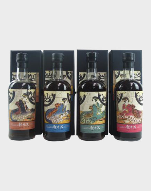 Karuizawa 19992000 Geisha Single Casks 4 Bottles Set