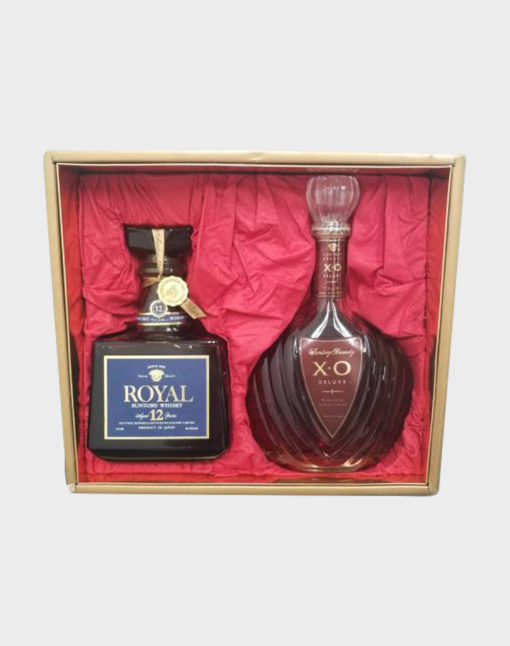 Suntory Royal 12 Year Old & Brandy X.O Deluxe Whisky Set