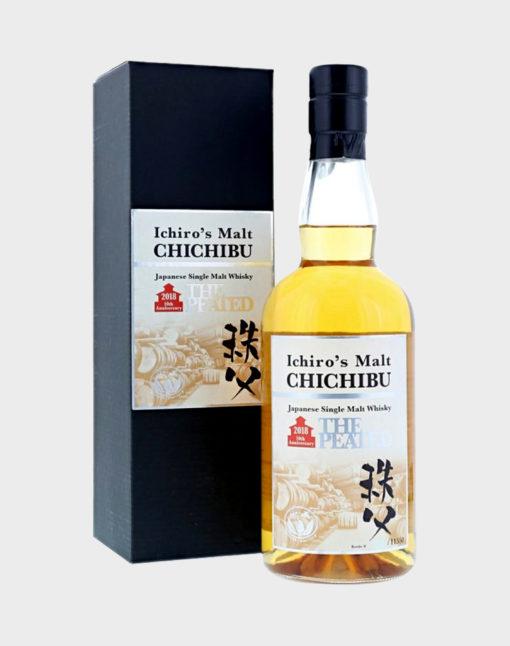 Ichiro's Malt Chichibu The Peated 2018 The 10th Anniversary