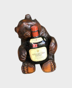Suntory Old Mild and Smooth with Wooden Bear Stand