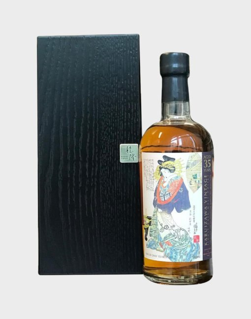 Karuizawa 35 Years Old Bourbon - Geisha Series (Cask Number 8378)