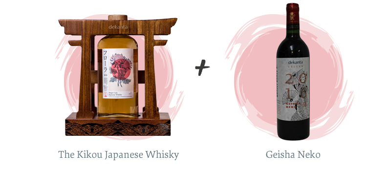 The Kikou Japanese Whisky + Geisha Neko
