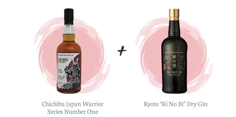 "Chichibu Japan Warrior Series Number One + Kyoto ""Ki No Bi"" Dry Gin"