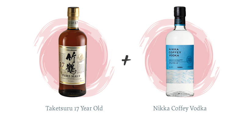 Taketsuru 17 Year Old + Nikka Coffey Vodka