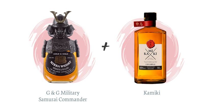 G & G Military Samurai Commander + Kamiki