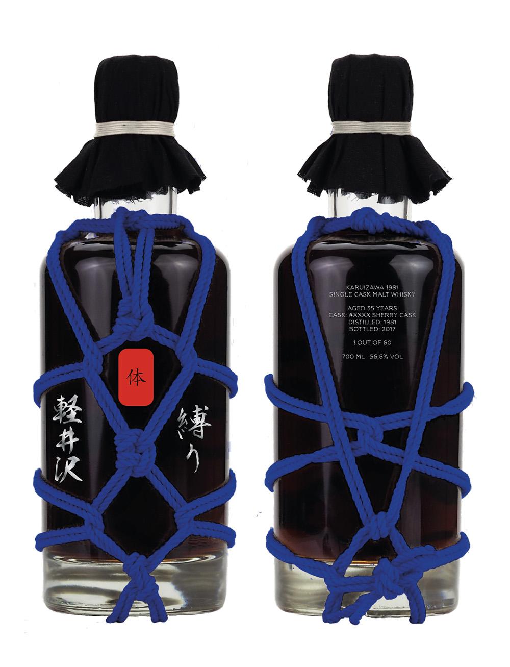 Karuizawa 35 Year Old Shibari Japanese Whisky Blue Edition