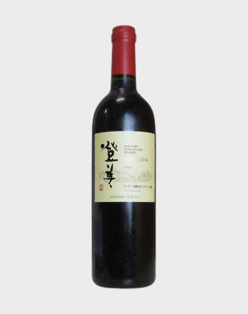 Suntory Tomi No Oka Winery Tomi Red 2014