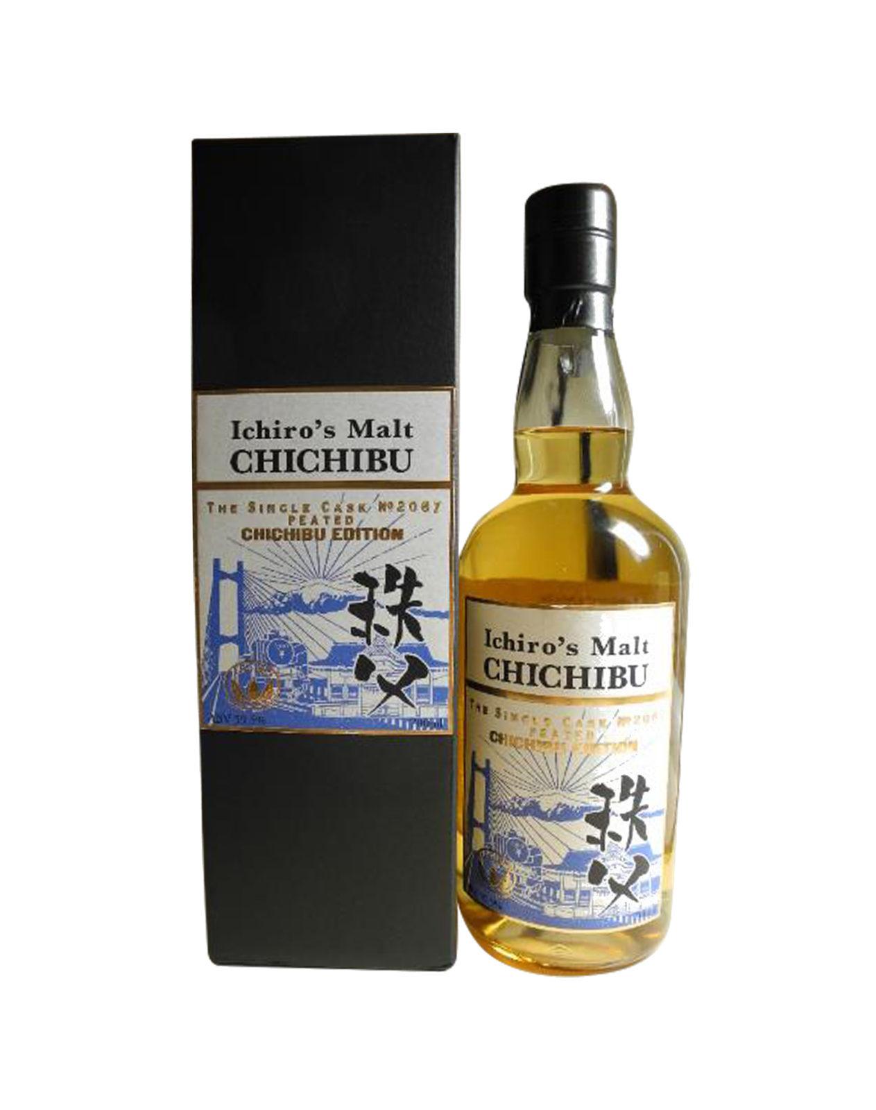 Ichiro's Malt Peated Chichibu Edition Cask 2067
