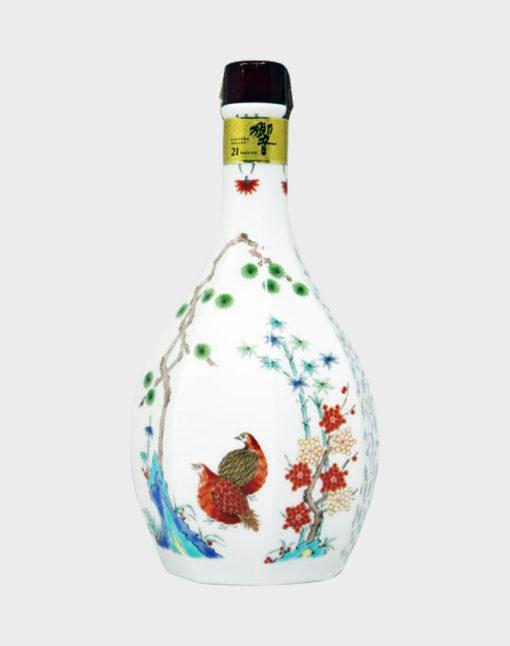 Suntory Hibiki 21 Year Old In Ceramic Decanter 2002- No Box
